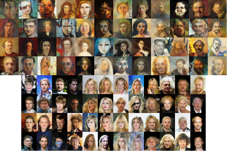 Conditional GANs For Painting and Celebrity Generation